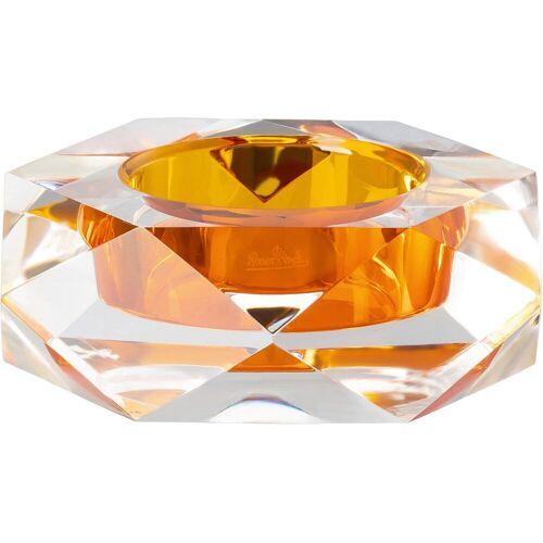 Rosenthal Kerzenhalter »Stella« (1 Stück), goldfarben-transparent