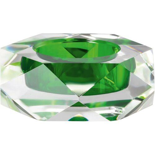 Rosenthal Kerzenhalter »Stella« (1 Stück), olivgrün-transparent