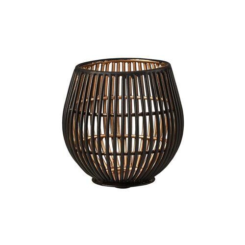 BUTLERS Teelichthalter »YOKO Metall Teelichthalter Höhe 9 cm«