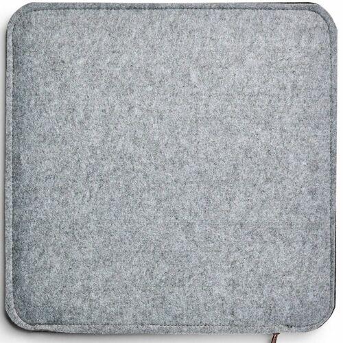 AMARE Sitzkissen »Filzkissen 6er Set 35 cm«, Filz zum Wenden