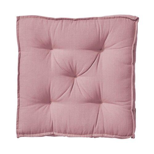 BUTLERS Sitzkissen »SOLID Sitzkissen L 40 x B 40cm«, Rosa