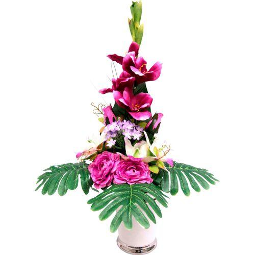 I.GE.A. Kunstpflanze »Gladiole« Gladiole, , Höhe 65 cm
