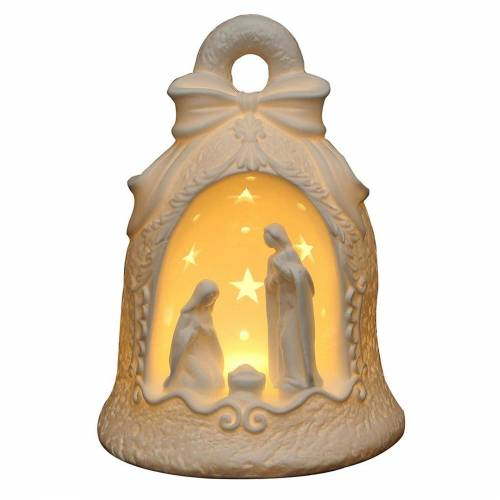 SIGRO Windlicht »Porzellan Windlicht Heilige Familie in Glocke«