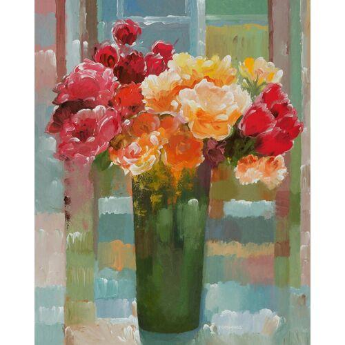 Home affaire Kunstdruck »KHORASANI / Prächtige Blüten«