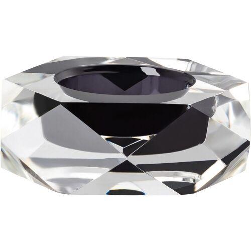 Rosenthal Kerzenhalter »Stella« (1 Stück), schwarz-transparent