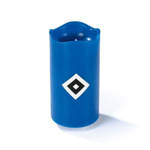 HSV LED-Kerze (Echtwachskerze mit -Logo)