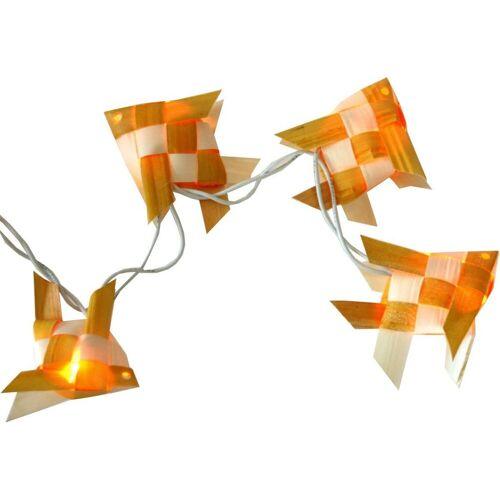 Guru-Shop LED-Lichterkette »Lichterkette `mare` - weiß/gelb«, weiß/gelb