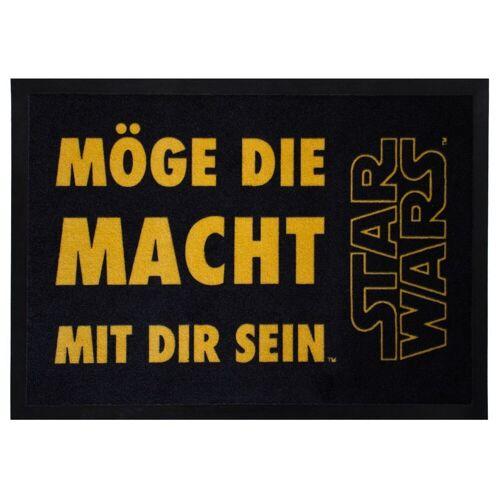 Star Wars Teppich »SWD-6 MÖGE DIE MACHT MIT DIR Sein«, , Rechteckig, Höhe 30 mm