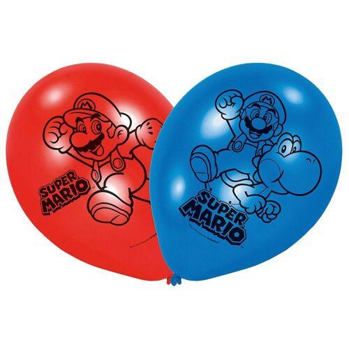 Amscan Luftballon »Luftballon Super Mario, 6 Stück«