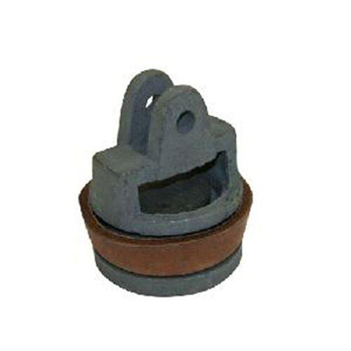 XCLOU Wasserpumpe »Kolben für Schwengelpumpe Typ 75 komplett − Ersatzteil für Wasserpumpe − aus Grauguss & Rindsleder − Ø 8cm, H 9,3cm«