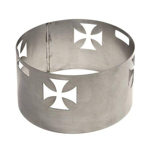 acerto® Feuerschale »Funkenschutz mit KREUZ-Motiv, für Feuerschalen von 55cm Feuerstelle«