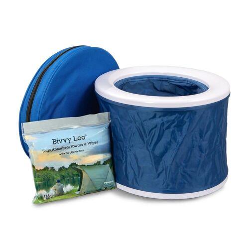 CarpLife Campingtoilette »Campingtoilette Bivvy Loo«, blau