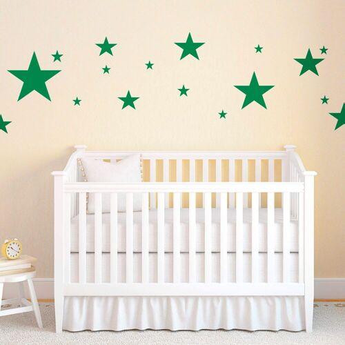 ART Wall-Art Wandtattoo »Sterne«, grün