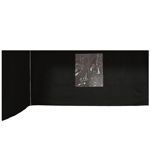 GMD Living Pavillonseitenteile »ESPRIT PAVILLON«, (2er Set ESPRIT Pavillon Seitenteile, 2 Seitenteile passend für ESPRIT Pavillon), Sicht- und Windschutz-Seitenteile für ESPRIT Pavillon, dunkelgrau