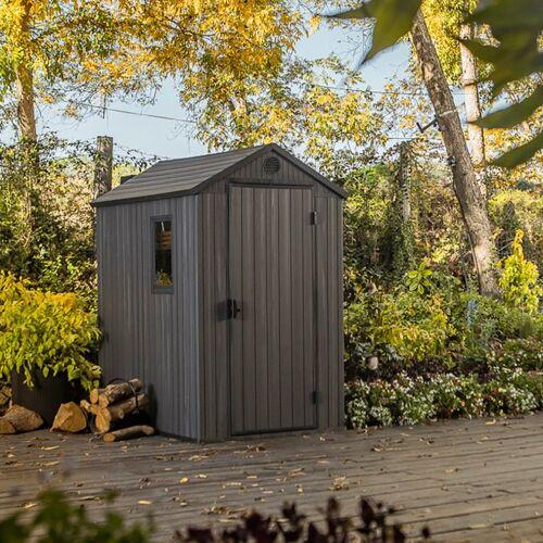 Keter Gerätehaus »Darwin 4x6«, BxT: 125,8x184,5 cm, Kunststoff