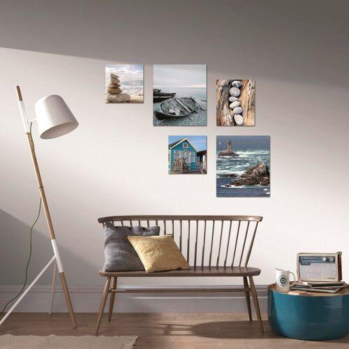 ART for the home Bild »Strand«, Strand (5 Stück)