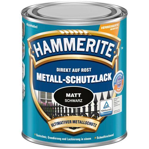 Hammerite Hammerite Metallschutzlack »Matt«, 0,25 Liter, schwarz