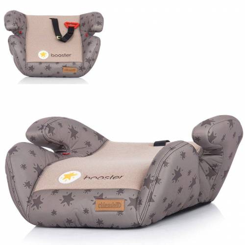 Chipolino Kindersitzerhöhung »Kindersitz Booster Gruppe 2/3«, 1.2 kg, (15 - 36 kg) Gurtführung Bezug abnehmbar, beige