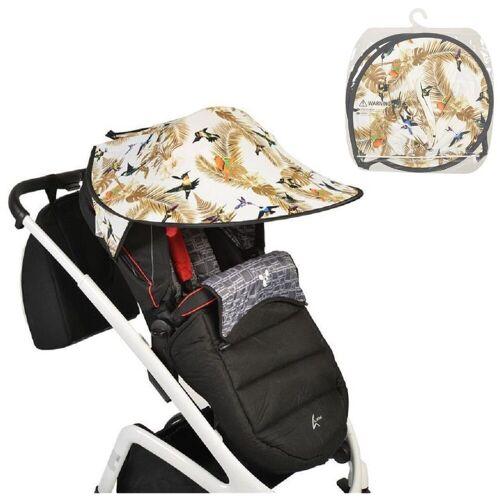 Cangaroo Kinderwagenschirm »Universal Sonnenschutz«, für den Kinderwagen Schutz vor Sonne Wind Staub, Vögel