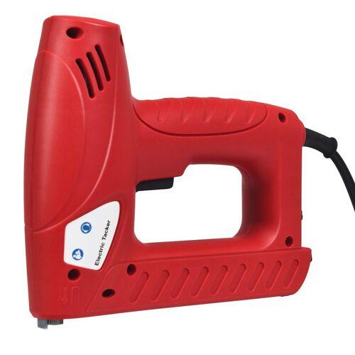 COSTWAY Elektro-Tacker »Elektrisches Nagelpistolen Kit«, mit 1200 Tackerklammern und 300 Nägel / 20 Stück/Min