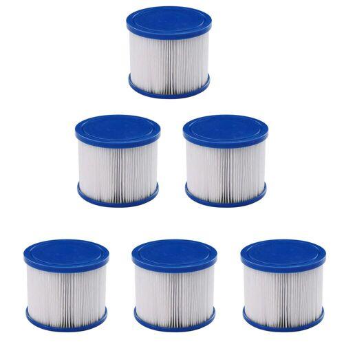 Arebos Pool-Filterkartusche Filterkartuschen, Zubehör für Whirlpool, Passend für Whirlpools