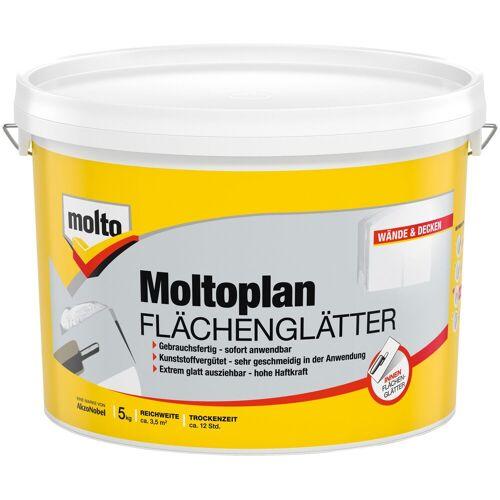 Molto Molto Fertigspachtel »Flächenglätter Moltofill«, gebrauchsfertig, weiß, 5 kg