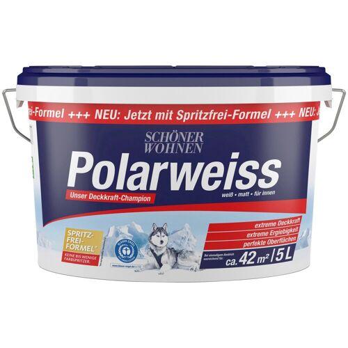 SCHÖNER WOHNEN-Kollektion Wandfarbe »Polarweiss«, 5 l, starke Deckkraft