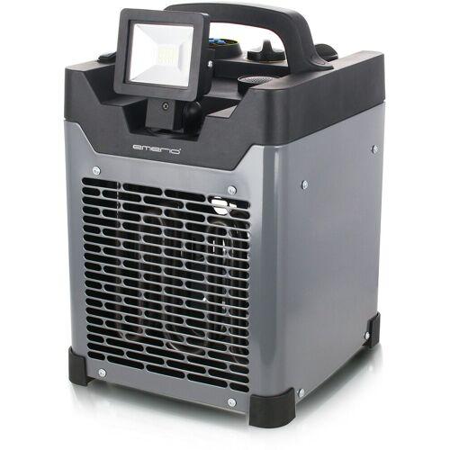 Emerio Heizlüfter FH-117205, 3300 W, mit LED-Strahler und Lautsprecher