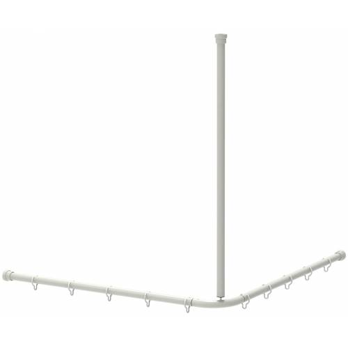 ERLAU Duschvorhangstange »DVS-L-B 1200x12«, , Ø 30 mm, kürzbar, Individuell kürzbar