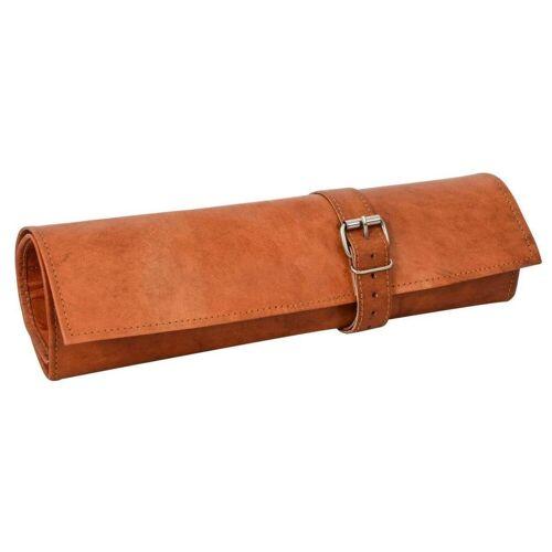 Gusti Leder Werkzeugtasche »Jace«, Werkzeugtasche Rolltasche Werkzeugmappe