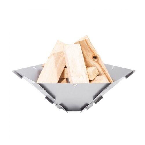 FENNEK Feuerschale »Hexagon - Feuerschale zum Stecken aus 100% Edelstahl - 59x50x18,5cm«
