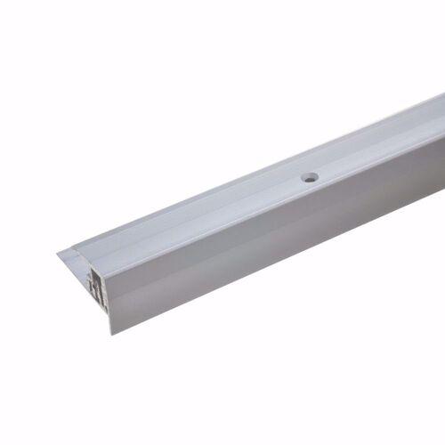 acerto® Treppenkantenprofil »Alu Treppenkantenprofil 90cm 7-15,5 mm silber«