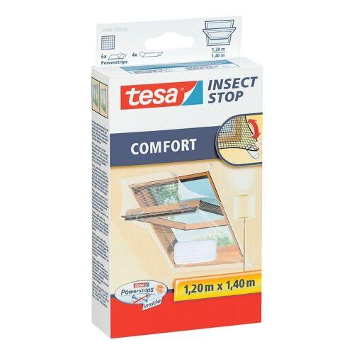 tesa Fensterschutzgitter »Comfort«, Fliegengitter 55881 für Dachfenster