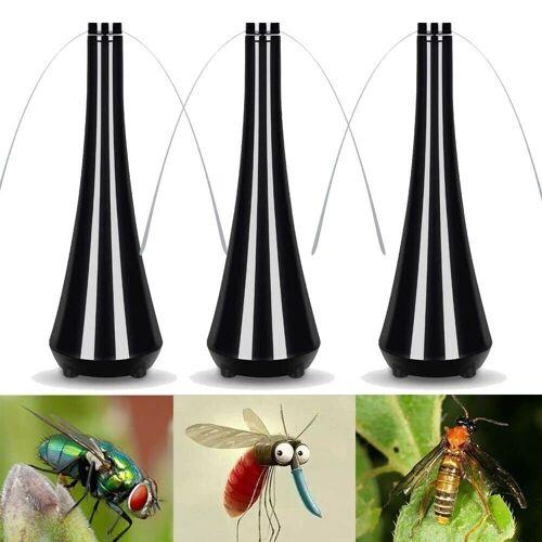 XIIW Insektenschutzplissee »3tlg Fliegenschutz Ventilator Fliegenwedler Fliegenabwehr Insektenschutz Fliegengitter Fliegenschutz Insektenschutz Mückengitter«,