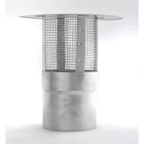 acerto® Schornstein-Regenhaube »Schornsteinabdeckung 180mm mit Funkenschutz«
