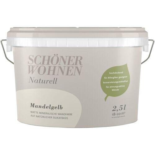 SCHÖNER WOHNEN-Kollektion Wandfarbe »SW Naturell Mandelgelb«, hochdeckend