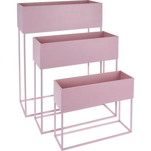 Koopmann Blumenkasten »3er-Set Stand-Blumenkasten 50 x 20 x 64 cm + 46 x«