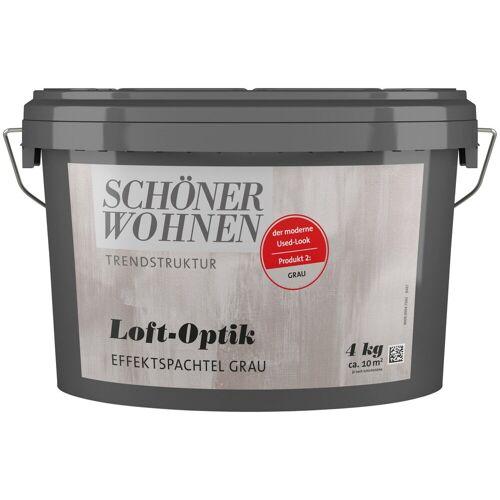 SCHÖNER WOHNEN-Kollektion Spachtelmasse »Loft-Optik Effektspachtel grau«, 4 kg