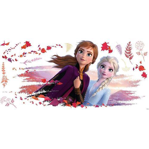 RoomMates Wandsticker »Wandsticker Disney Frozen II - Elsa & Anna«
