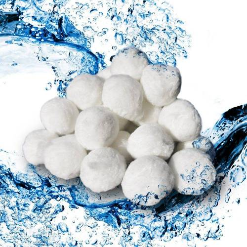 Oskar-Store Sandfilteranlage »Filter Balls 1500g Pool Filterbälle für Sandfilter Poolpumpe ersetzen Filtersand«