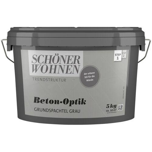 SCHÖNER WOHNEN-Kollektion Spachtelmasse »Betonoptik Grundspachtel grau«