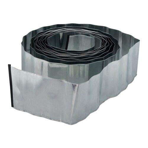 relaxdays Rasenkante »Rasenkante 10m Metall«