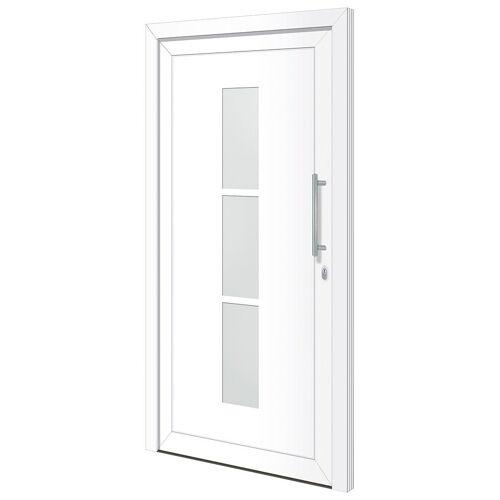 RORO Türen & Fenster Haustür »Otto 5«, BxH: 110x210 cm, weiß, ohne Griff