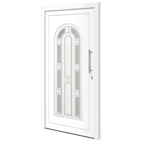 RORO Türen & Fenster Haustür »Otto 11«, BxH: 100x210 cm, weiß, ohne Griff