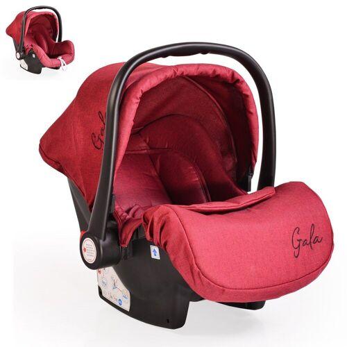 Moni Babyschale »Babyschale Gala, Gruppe 0+«, 3 kg, (0 - 13 kg), Sitzpolster, Fußabdeckung, rot