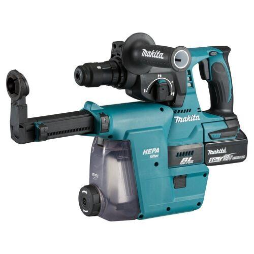 Makita Werkzeug »DHR243RTJW Akku-Bohrhammer (Motorbremse, Rechts- und Linkslauf, 18 Volt)«