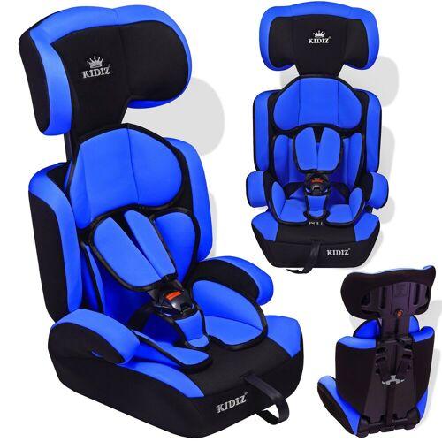 KIDIZ Autokindersitz, Autositz 9-36 kg Gruppe 1+2+3 Kinderautositz Stabil und Sicher Sitzschale Kindersitz, blau