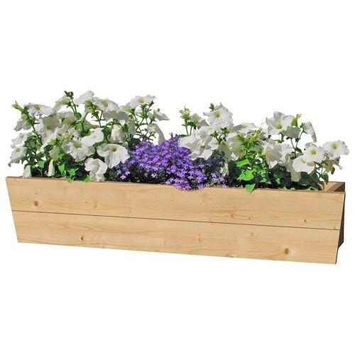 Outdoor Life Products Blumenkasten, 90 cm, Fichtenholz