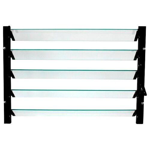 Vitavia Fenster »Lamellenfenster«, schwarz, BxH: 61x45 cm