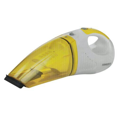 Termozeta Akku-Handstaubsauger, 30 Watt, beutellos, 2in1 Handstaubsauger Nass Trocken Staubsauger Sauger Nasssauger, gelb